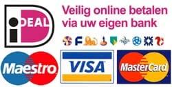 Veilig online betalen met Ideal of creditcard