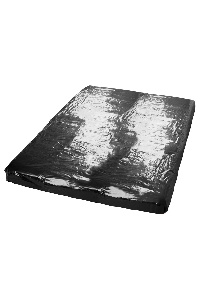 Vinyl laken zwart 220x220cm