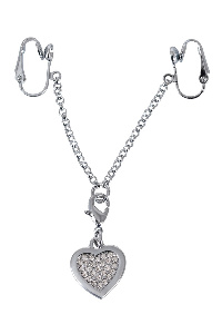 Intimate heart-shaped chain