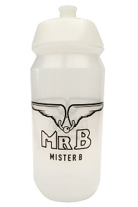 Mister b waterfles transparant 500ml