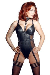 Leather body xs