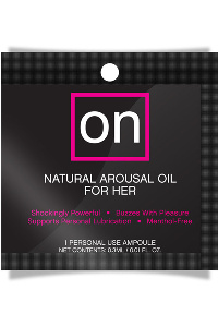On - natural arousel oil for her ampoule
