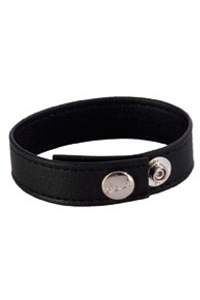 Colt adjustable 3 snap leather strap