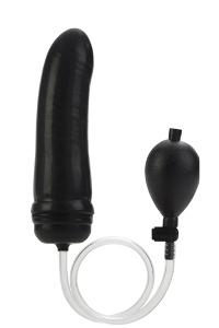 Colt hefty probe inflatable butt plug - black