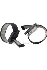Electrastim adjustable fabric cock and scrotal bands