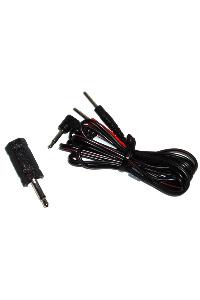 Electrastim jack adaptor cable kit 3.5 mm. to 2.5 mm.