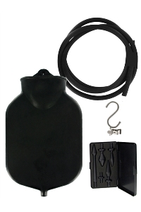 Master series - deluxe enema set - black
