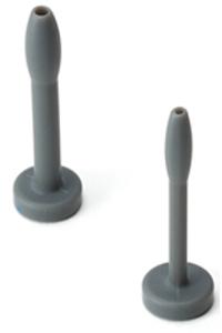 Cum plug kit 5.08cm. (2.00 inch) - grey