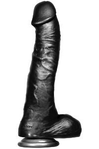 Falcon - big black cock - twizted - 30.5cm. (12.00 inch)