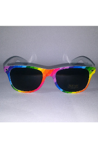 Pride rainbow sunglasses