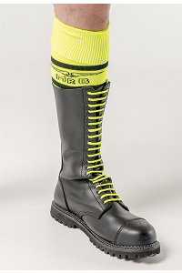 Mister b shoe laces neon yellow