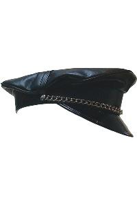Military cap no fishbone black