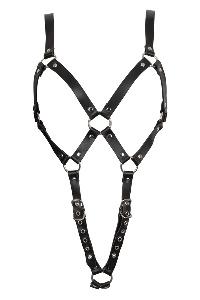 Leather strap body